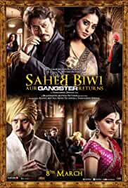 Saheb Biwi Aur Gangster Returns 2013 Hindi BluRay 480p 400MB MKV