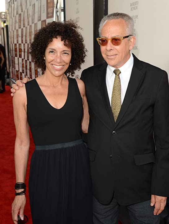 Stephanie Allain and David Ansen at To Rome with Love (2012)