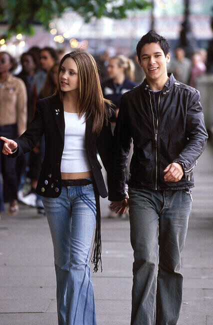 Amanda Bynes and Oliver James in What a Girl Wants (2003)