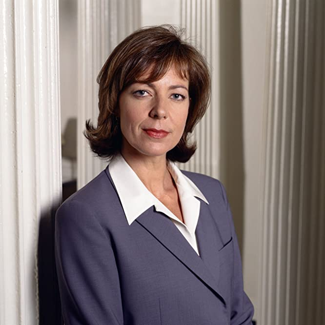 Allison Janney in The West Wing (1999)