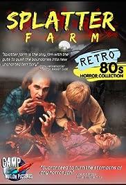 Splatter Farm Poster