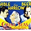 Clark Gable, Wallace Beery, and Jean Harlow in China Seas (1935)