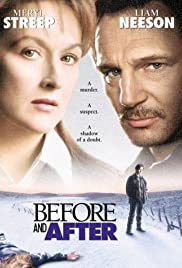 Before and After(1996) Poster - Movie Forum, Cast, Reviews