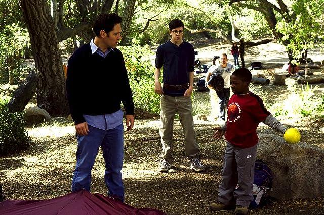 Paul Rudd, Bobb'e J. Thompson, and Christopher Mintz-Plasse in Role Models (2008)