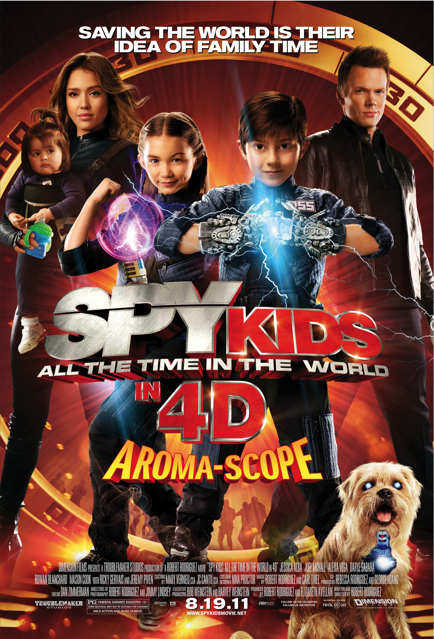 Spy Kids 4 All the Time in the World 2011 Hindi Dubbed