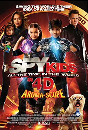 ver Mini Espias 4: Los ladrones del tiempo / Spy Kids 4: All the Time in the World