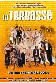 La terrazza Poster