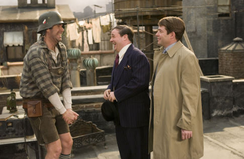 Matthew Broderick, Nathan Lane, and Will Ferrell in The Producers (2005)