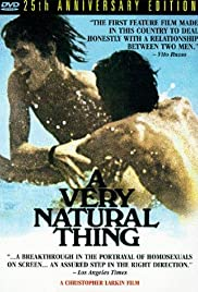 A Very Natural Thing Poster