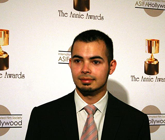 Short-subject nominee Joaquin Baldwin on the red carpet