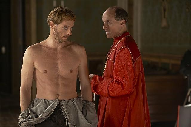 Colm Feore and Sean Harris in The Borgias (2011)
