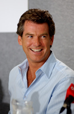 Pierce Brosnan at an event for Evelyn (2002)
