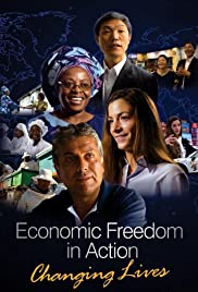 Economic Freedom in Action: Changing Lives Poster