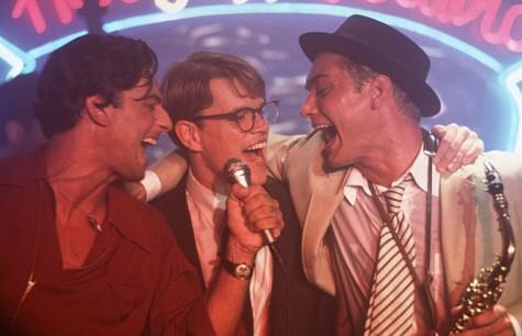 Jude Law, Matt Damon, and Fiorello in The Talented Mr. Ripley (1999)