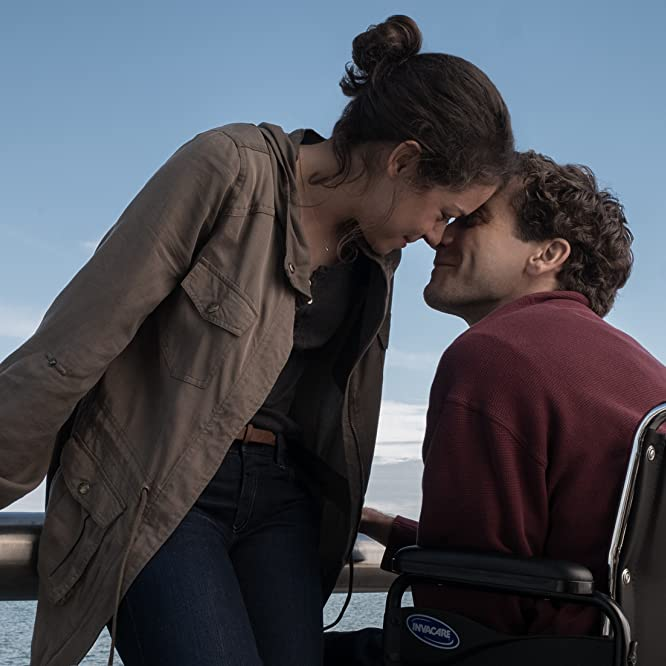 Jake Gyllenhaal and Tatiana Maslany in Stronger (2017)
