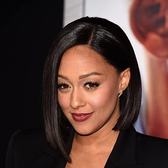 Tia Mowry-Hardrict at an event for Focus (2015)
