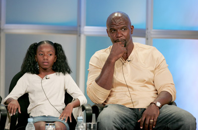 Terry Crews and Imani Hakim at Everybody Hates Chris (2005)