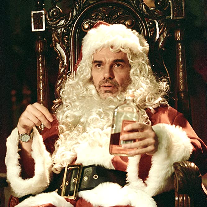 Billy Bob Thornton in Bad Santa (2003)