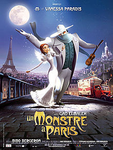A Monster In Paris 2011 Hindi Dubbed