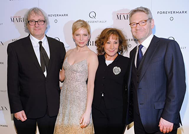 Kenneth Branagh, Simon Curtis, Zoë Wanamaker, and Michelle Williams at My Week with Marilyn (2011)