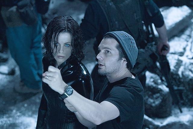Kate Beckinsale and Len Wiseman in Underworld: Evolution (2006)