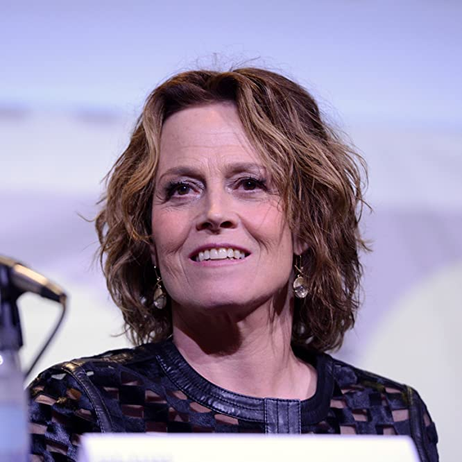 Sigourney Weaver at an event for Aliens (1986)