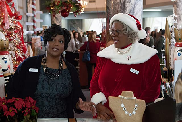 Anna Maria Horsford and Tyler Perry in A Madea Christmas (2013)
