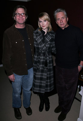 Michael Douglas, Mike Cahill, and Evan Rachel Wood at King of California (2007)