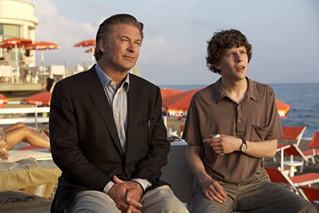 Alec Baldwin and Jesse Eisenberg in To Rome with Love (2012)