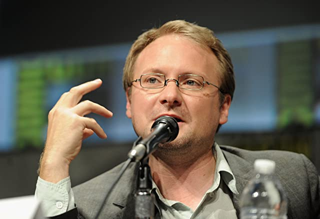 Rian Johnson at an event for Looper (2012)