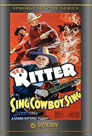 Sing, Cowboy, Sing Poster