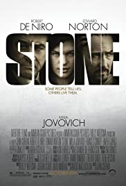 Stone (2010) Poster - Movie Forum, Cast, Reviews