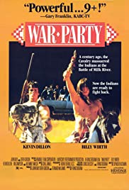 War Party (1988) Poster - Movie Forum, Cast, Reviews