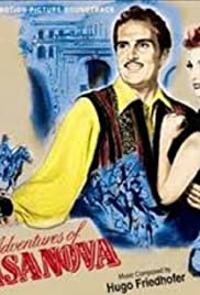 Adventures of Casanova Poster