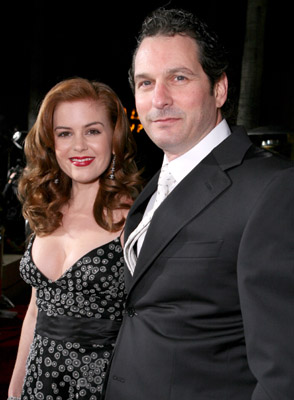 Isla Fisher and Scott Frank at The Lookout (2007)