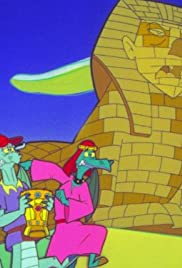 Single Green Dragon/Sphinx Jinx Poster