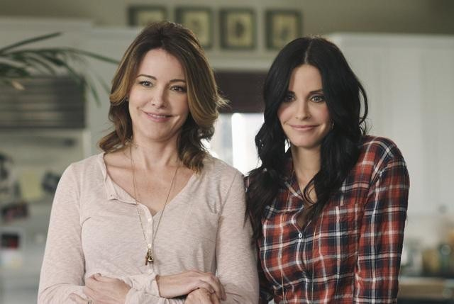 Courteney Cox and Christa Miller in Cougar Town (2009)