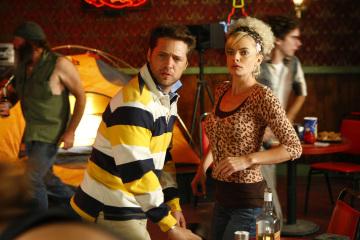 Jason Priestley and Jaime Pressly in My Name Is Earl (2005)