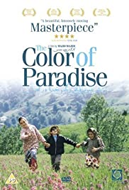The Color of Paradise Poster