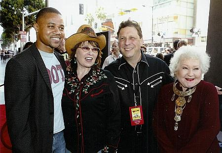 Cuba Gooding Jr., Roseanne Barr, Charles Dennis and Estelle Harris at the world premiere of