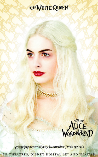Anne Hathaway in Alice in Wonderland (2010)