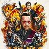 Arnold Schwarzenegger, Steve Bacic, Taran Killam, Bobby Moynihan, Aaron Yoo, Hannah Simone, and Allison Tolman in Killing Gunther (2017)