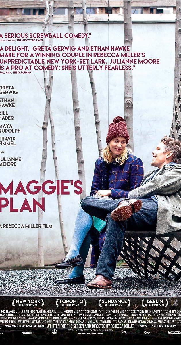 Megės planas / Maggies Plan (2015)