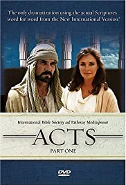 The Visual Bible: Acts Poster