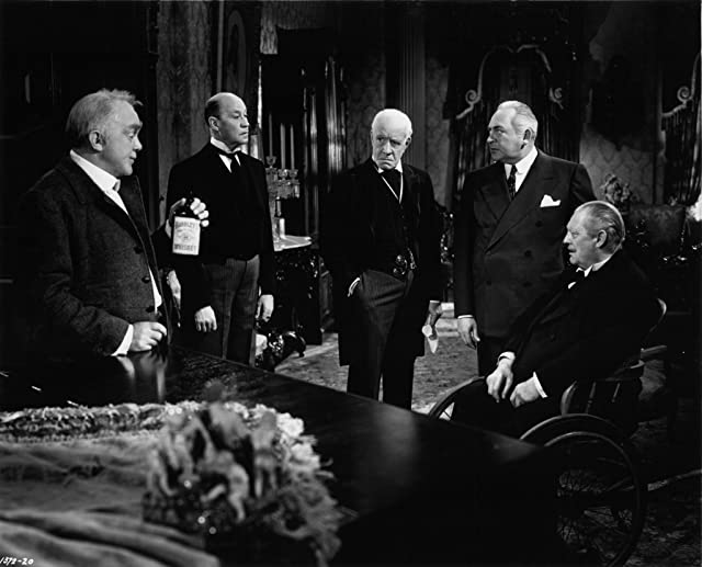 Lionel Barrymore, Edward Arnold, Thomas Mitchell, and Lewis Stone in Three Wise Fools (1946)
