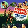 Don 'Red' Barry, John Boles, Bruce Cabot, Morgan Conway, Madge Evans, Gene Lockhart, and Marion Martin in Sinners in Paradise (1938)