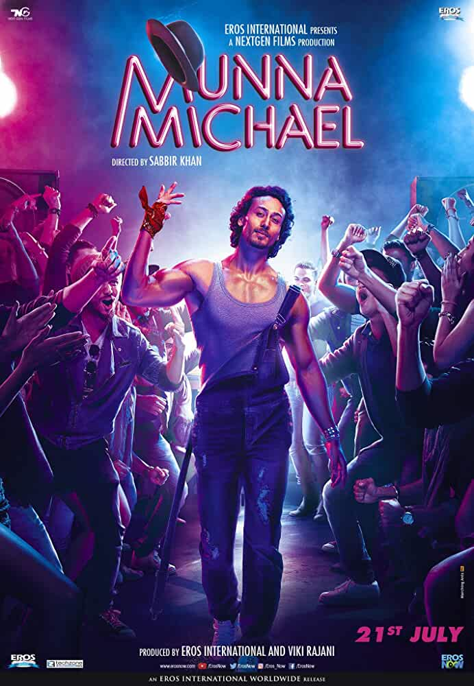 Poster Munna Michael 2017 Full HD Movie Download in 720p