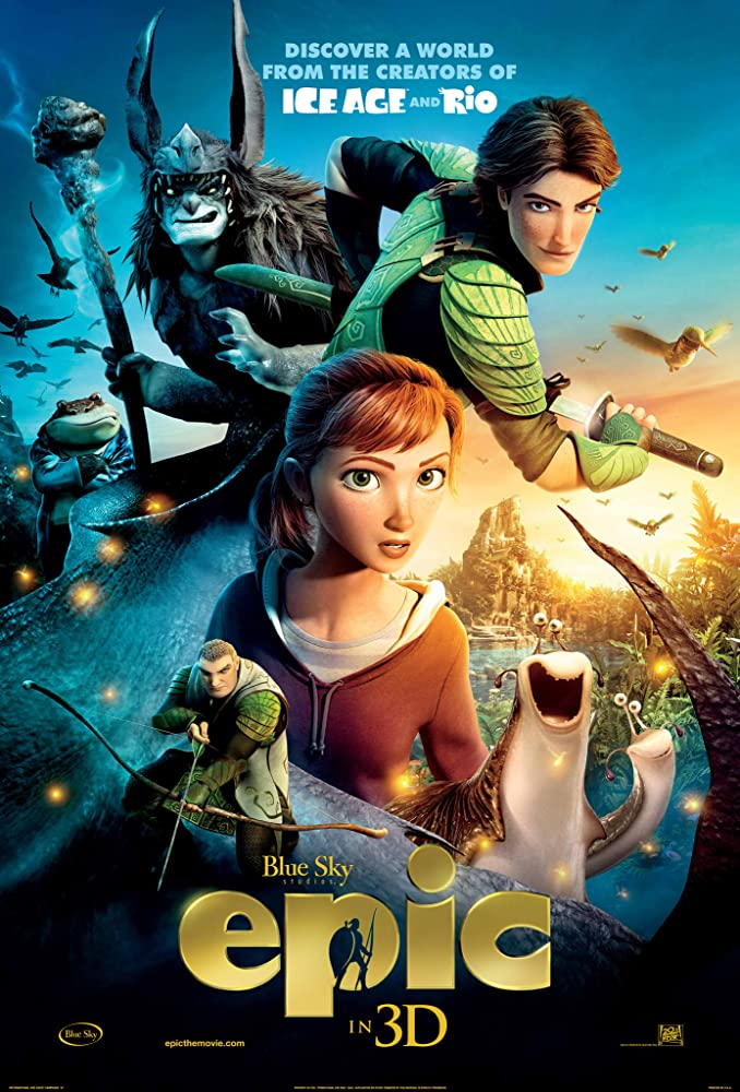 Epic 2013 720p BRRip Dual Audio Watch Online Free Download At Movies365