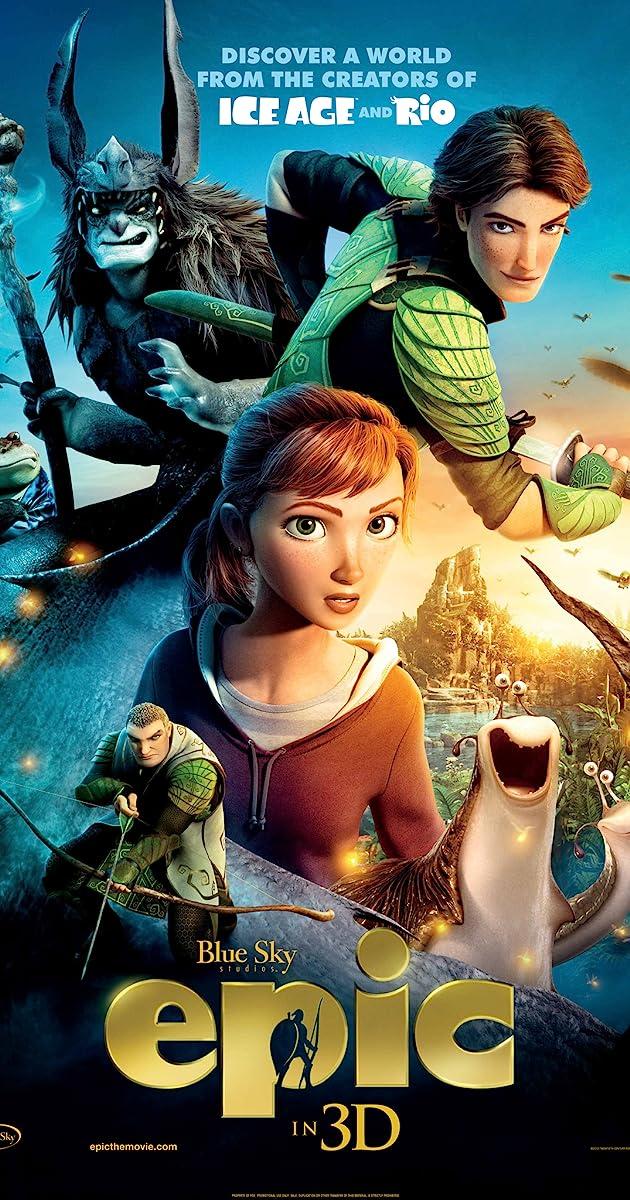 Paslaptinga karalystė / Epic (2013) Online