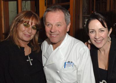 Penny Marshall, Patricia Heaton, and Wolfgang Puck
